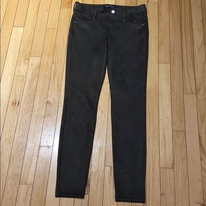 Woman's Liverpool US Suede Gray Dress Pants 2/26